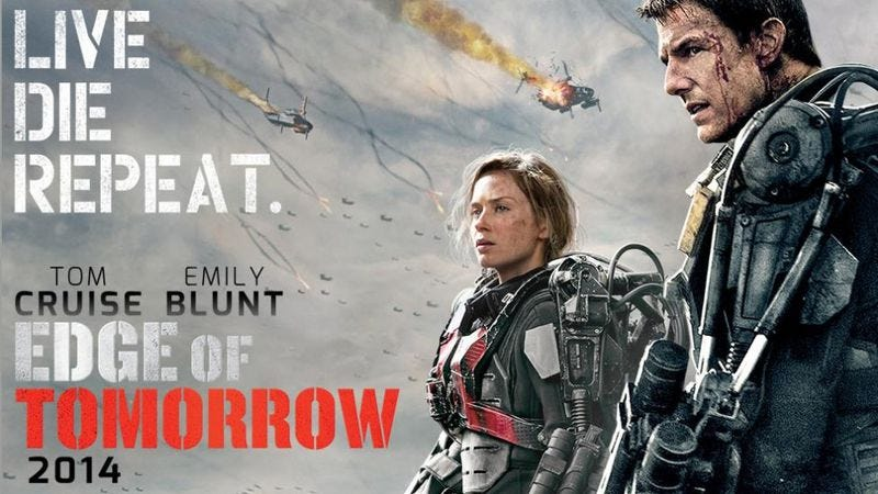 Illustration for article titled Edge Of Tomorrow has been rebranded as Live Die Repeat for home video