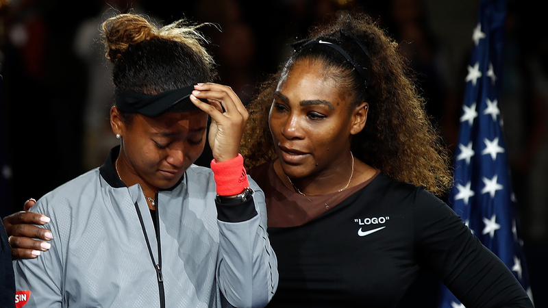 Illustration for article titled Serena Williams Shares The Apology She Sent To Naomi Osaka After U.S. Open