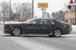 Illustration for article titled Cadillac 'LTS' Flagship Spied For First Time