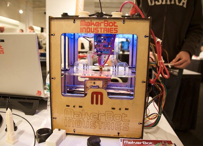 Illustration for article titled MakerBot Cupcake CNC Delivers DIY 3D Printing for Just $750