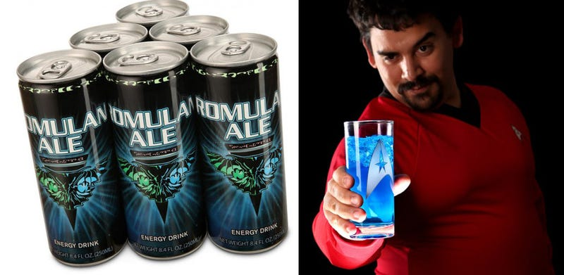 Illustration for article titled Romulan Ale Energy Drink Is Neither Romulan Nor Ale
