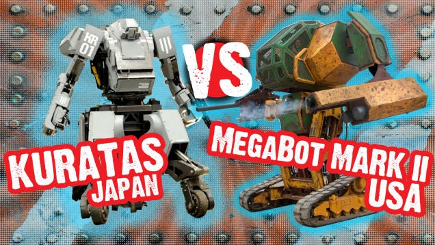 america vs japan In 2015, a team of american engineers created the megabots mk ii, a 15-foot-tall,  5,400kg, paintball cannon-armed mech of nightmarish.