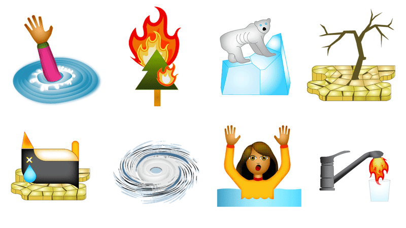 These Climate Change Emojis Are Peak 2018