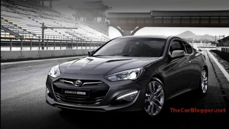 Illustration for article titled 2013 Hyundai Genesis Coupe: This is it, again?