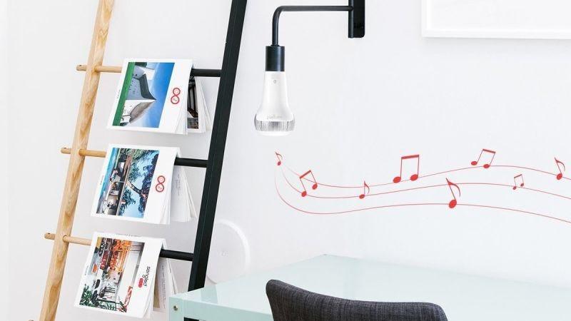 Foco inteligente con altavoz Bluetooth Sengled | $12 | Amazon | Usa el código 50B00PNUGráfico: Shep McAllister