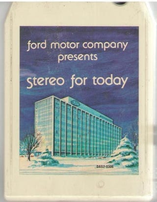 Illustration for article titled How Ford Helped Invent The 8-Track