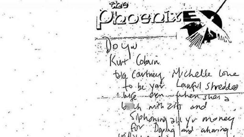 Illustration for article titled Kurt Cobain Called Courtney Love a 'Bitch With Zits'