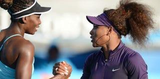 Venus and Serena Williams (Greg Wood/Getty Images)