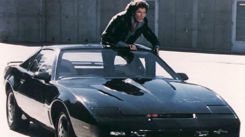 Illustration for article titled A Knight Rider movie may no longer be just a David Hasselhoff dream