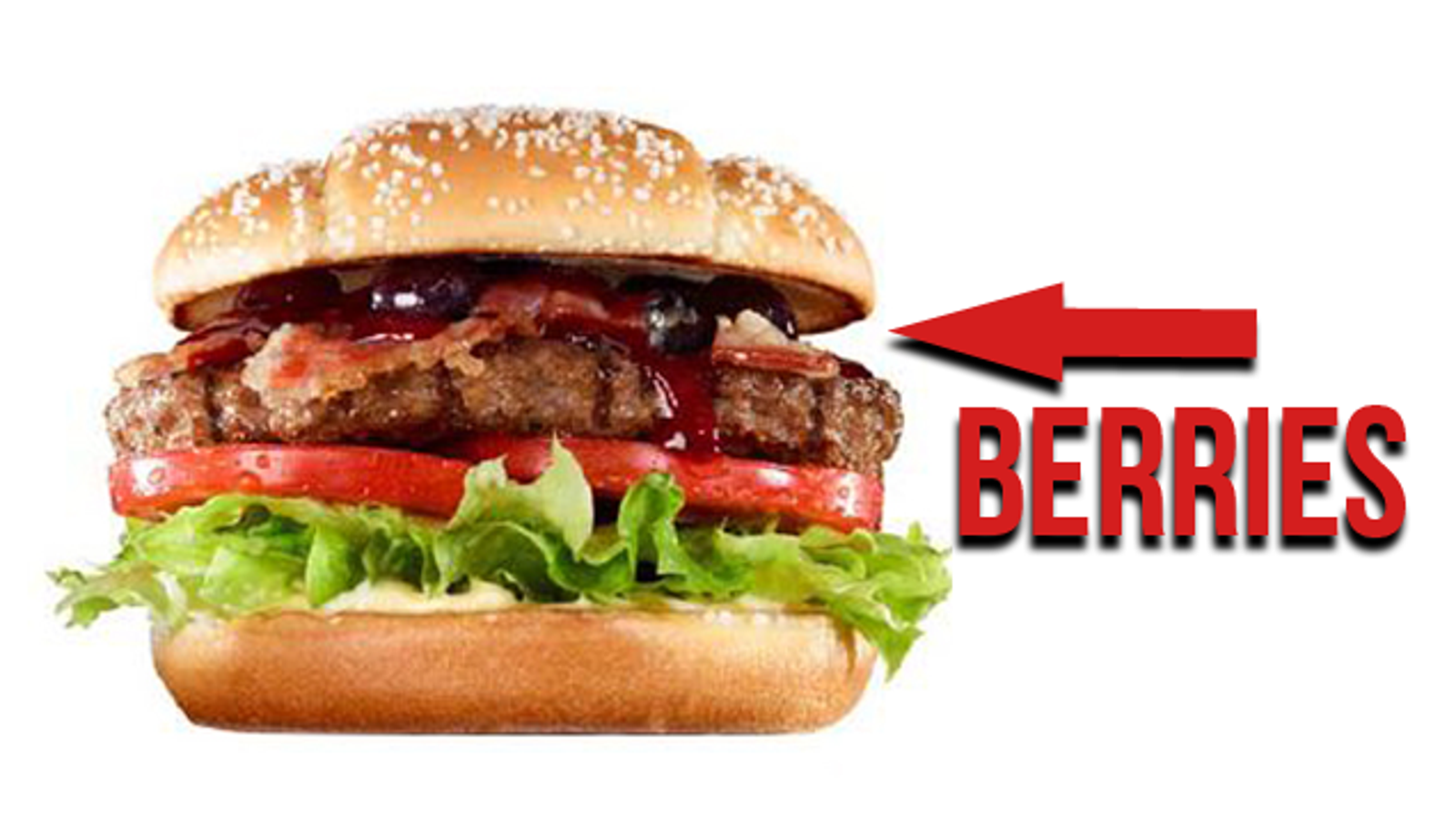 burger king 39 s berry hamburger sounds awful. Black Bedroom Furniture Sets. Home Design Ideas