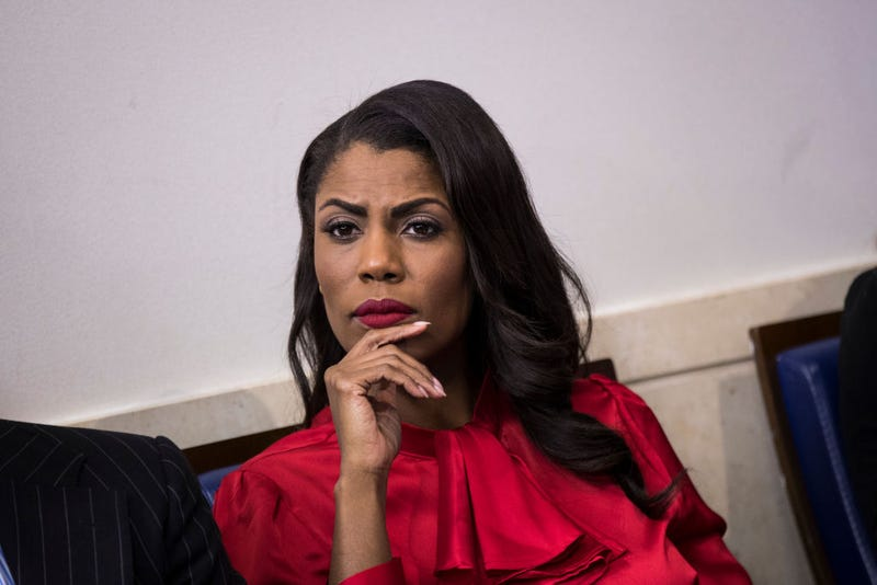 Omarosa Manigault Newman at the White House months before she was ousted as the  White House Public Liaison's communications director