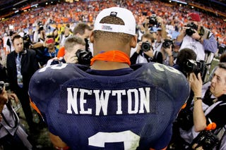 2010 Heisman Trophy winner Cam Newton will enter NFL draft.