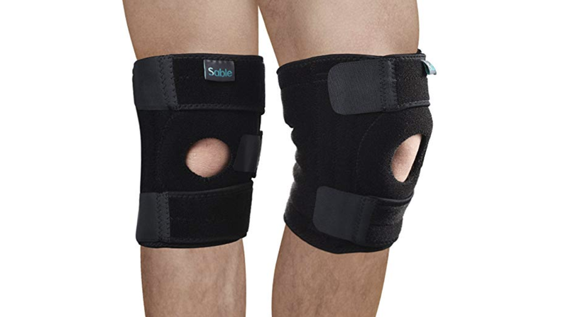 Brace yourself for jab steps galore with this two pack of brace yourself for jab steps galore with this two pack of stabilizing knee braces solutioingenieria Images