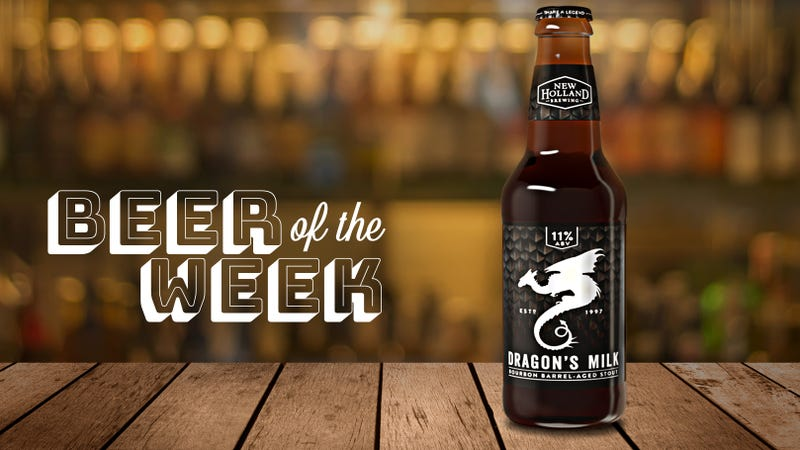Illustration for article titled Beer Of The Week: New Holland's Dragon's Milk Stout gets a refresh