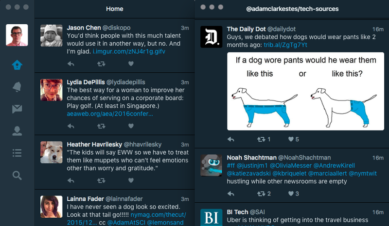 Image result for twitter dark mode
