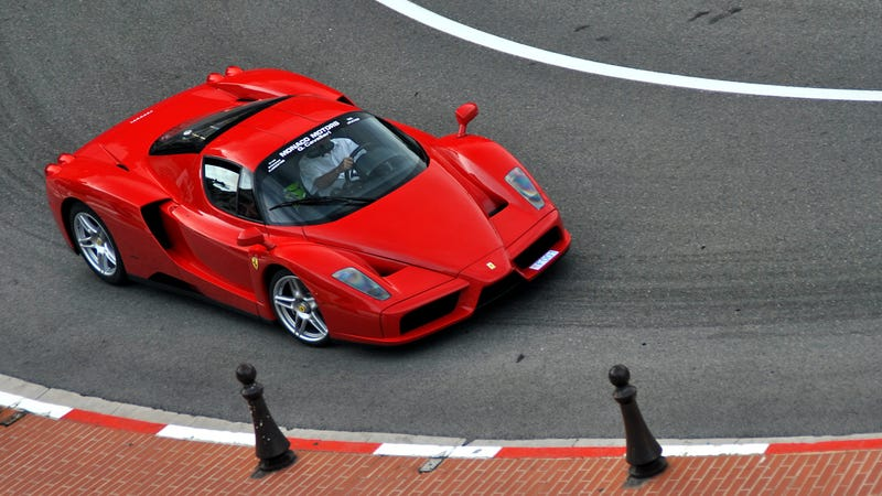Illustration for article titled Everything That's Beautiful About The Ferrari Enzo