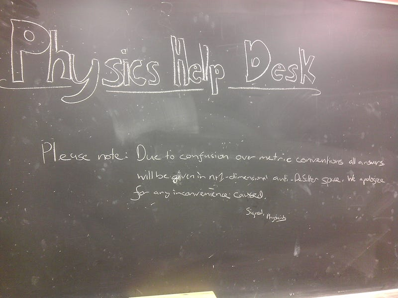 Illustration for article titled Physics Help Desk!!