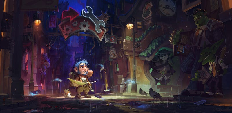 Illustration for article titled Hearthstone: Mean Streets of Gadgetzan Review Pt. 1