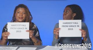 Grapevine Editor and Staff Writer Yesha Callahan and The Root Staff Writer Diana Ozemebhoya EromoseleThe Root