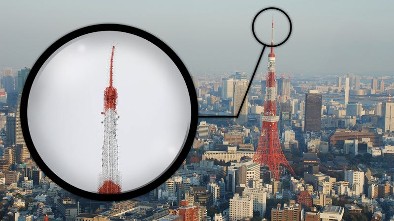 the japanese quake was so powerful it bent the tokyo tower