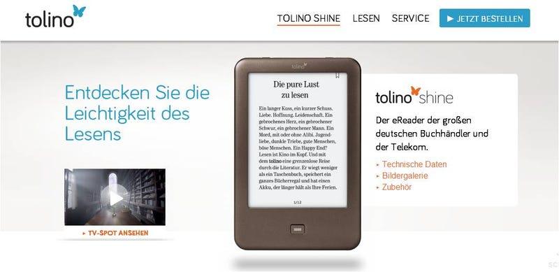 Illustration for article titled Las grandes librerías alemanas se unen para crear un eReader y plantar cara a Amazon