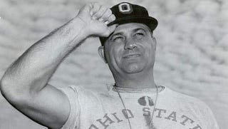 Illustration for article titled Ohio State Forced To Clarify That Woody Hayes Never Let A Turtle Bite His Penis