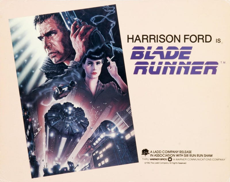 Illustration for article titled Harrison Ford Says Blade Runner 2 Script Is Best Thing He's Ever Read