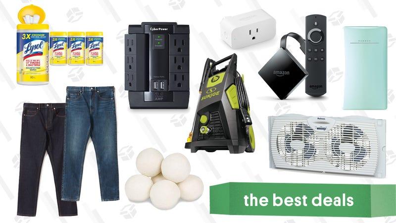 Illustration for article titled Thursday's Best Deals: Bidets, Jackbox Humble Bundle, Wine Fridges, Amazon Devices, and More