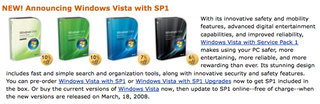 Illustration for article titled Rumor: Windows Vista SP 1 Coming Tuesday?