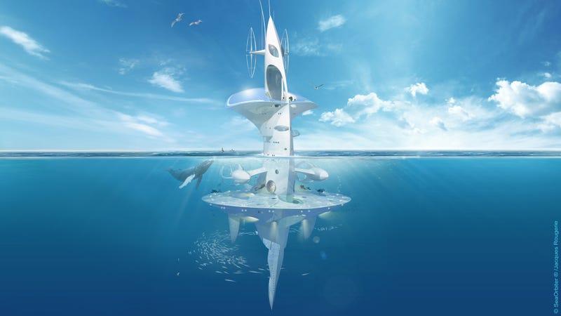 Illustration for article titled Sea Orbiter, un increíble laboratorio que surcará los mares en 2016