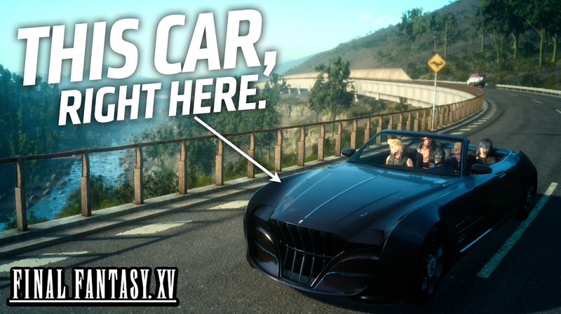 Illustration for article titled Everything We Know About The Car In Final Fantasy XV