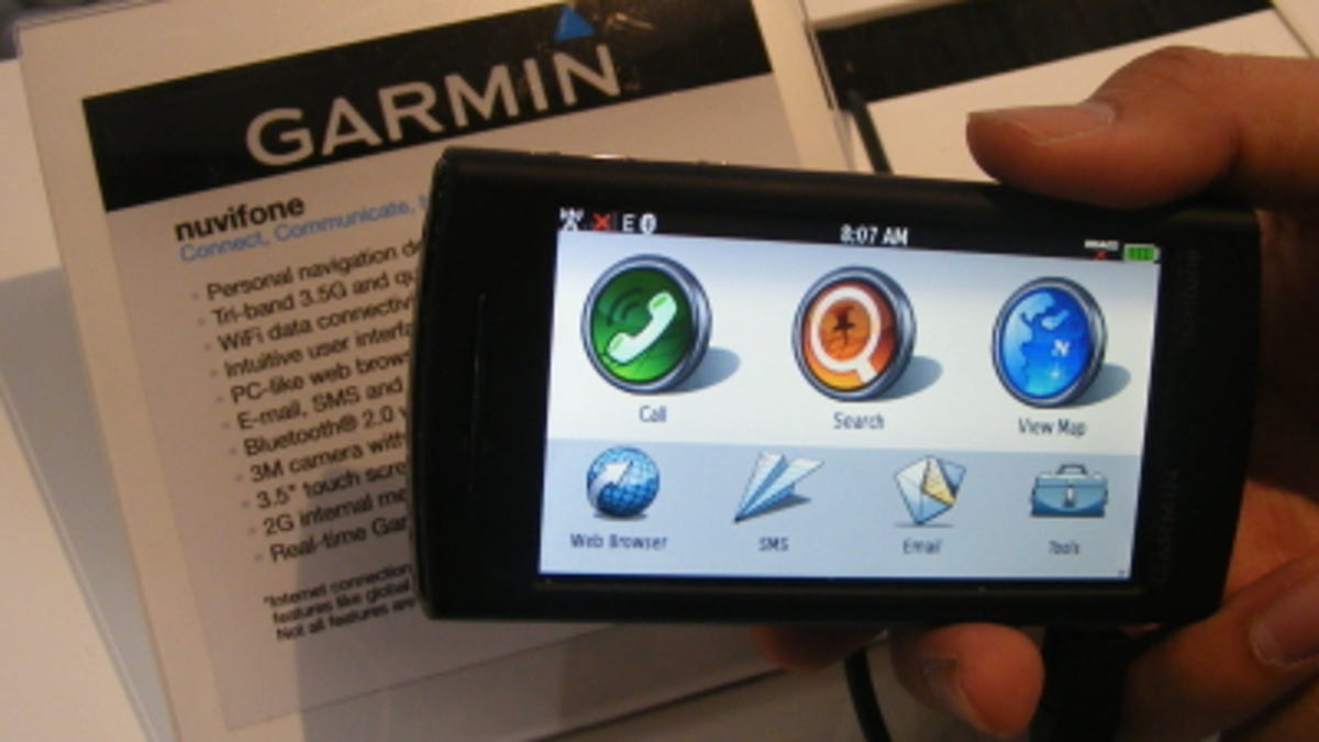 New Garmin nuvifone UI Shots Are A Thing of Beauty