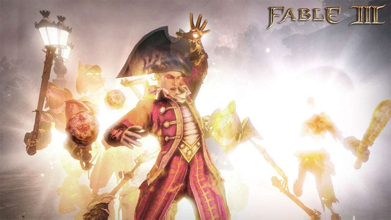 Illustration for article titled Hands-on With Fable III's Main Course & Two Sides