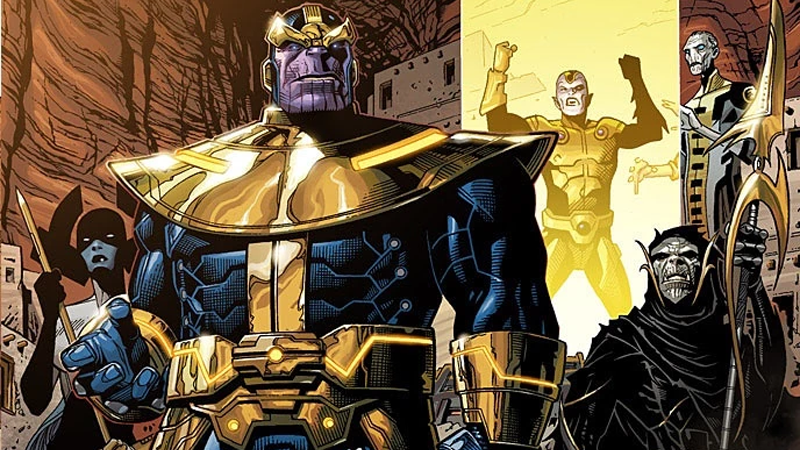 Illustration for article titled Who on Earth (or Anywhere Else) Could Be Thanos' Henchman in Avengers: Infinity War?
