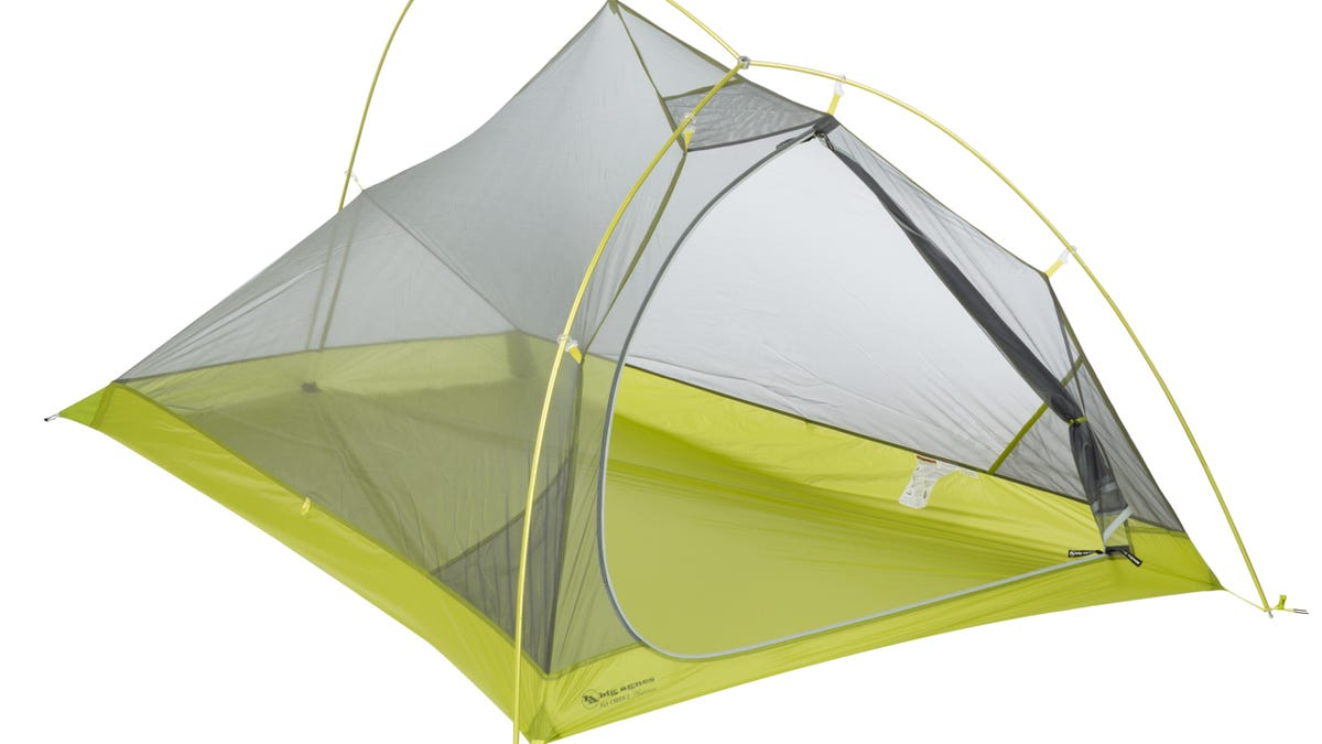 What It's Like To Live In The World's Lightest Freestanding Tent