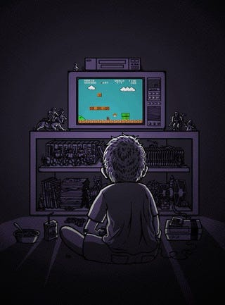 Illustration for article titled A Boy and his Games