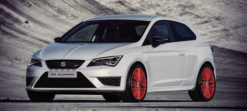 Illustration for article titled The Seat Leon Cupra Sub8 Is A Celebration Of Nürburgring Excellence