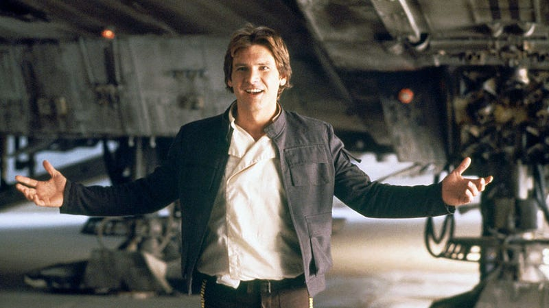 Illustration for article titled Let's take a look at Han Solo's original, pre-Disney origin story