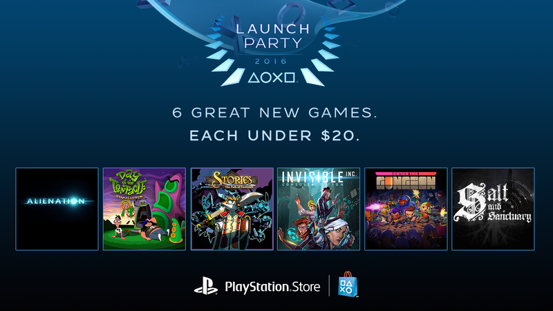 Illustration for article titled PlayStation Store's Launch Party Brings Digital Download Delights to Your PS4