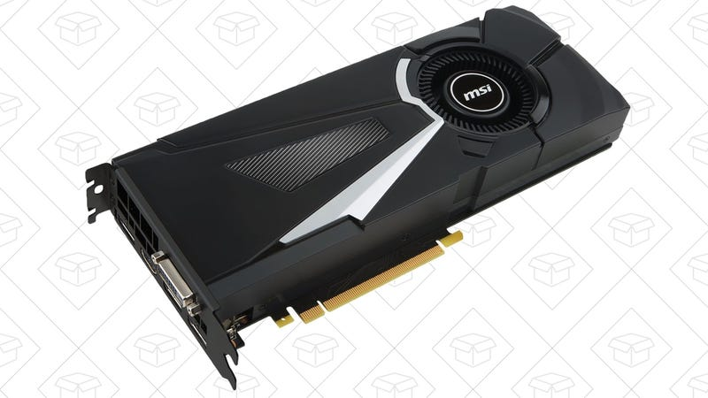 MSI GTX 1080 Aero, $461