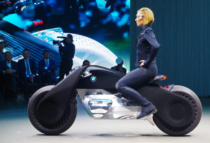 how realistic is bmw's motorcycle from 2116? an explainer