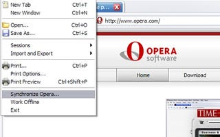 Keep Your Browsers in Sync with Opera Links