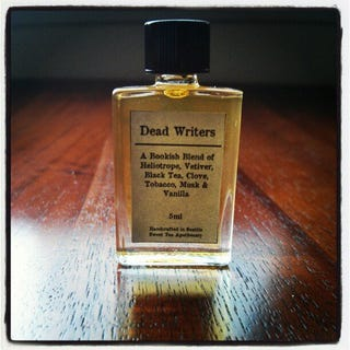 Illustration for article titled Dead Writers Perfume smells exactly how it should