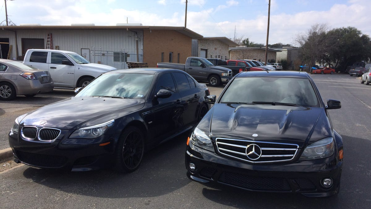 Why This V8 Mercedes Amg Is More Fun To Drive Around Town Than My