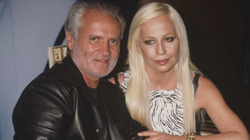 Gianni and Donatella Versace (Photo: Rose Hartman/Archive Photos/Getty Images)