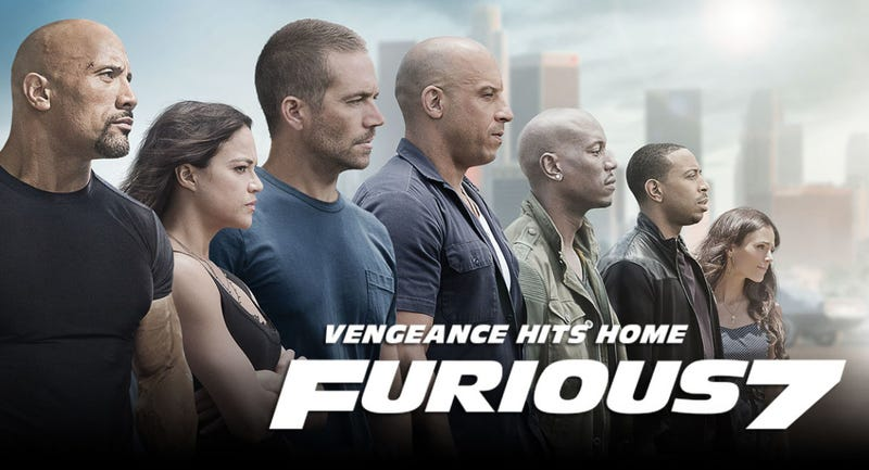 Illustration for article titled Furious 7Had The Biggest April Opening In History