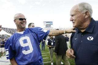Illustration for article titled How On Earth Did Jim McMahon Survive BYU's Honor Code?