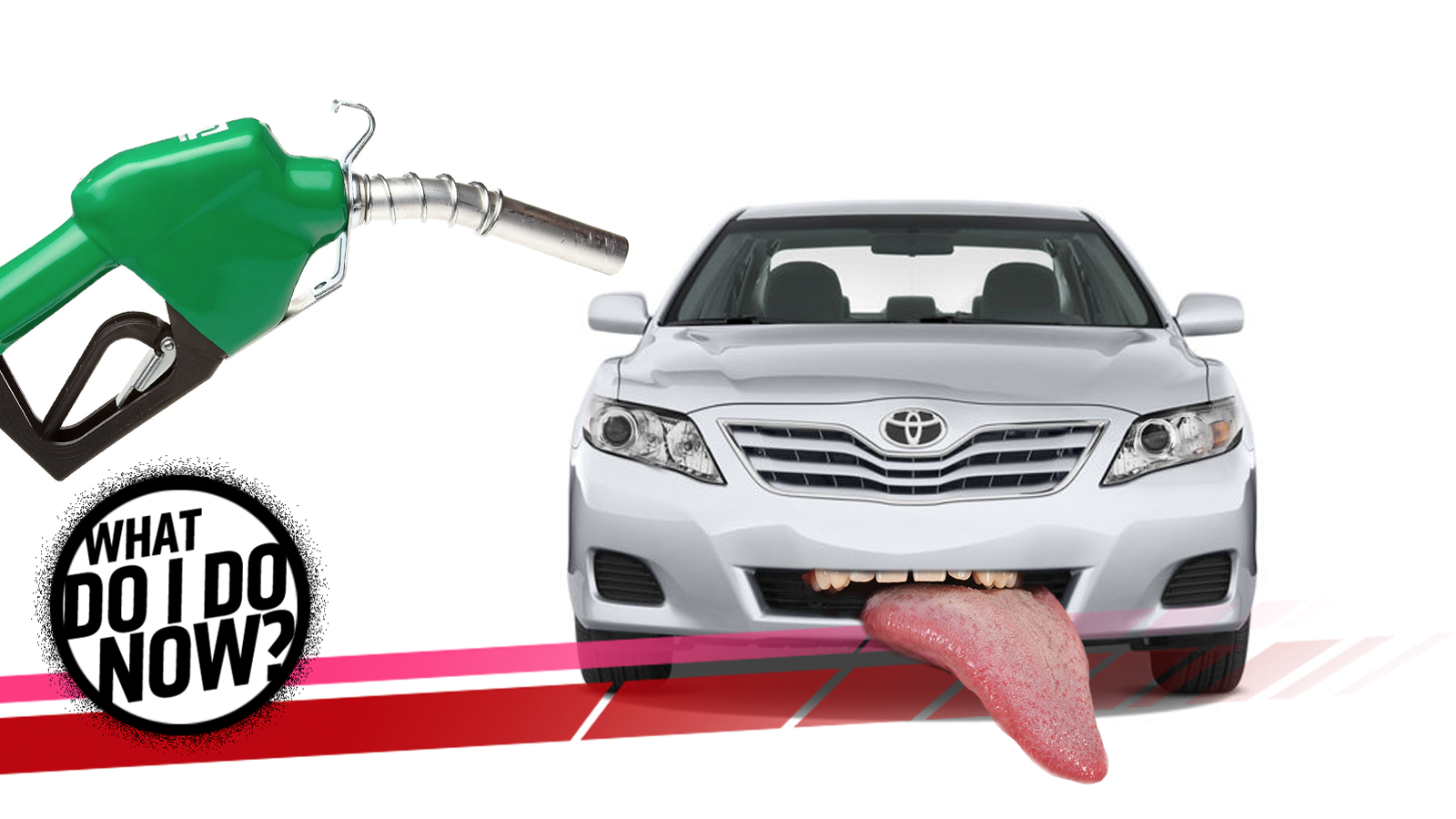 Toyota Camry: Fuel tank opening for unleaded gasoline