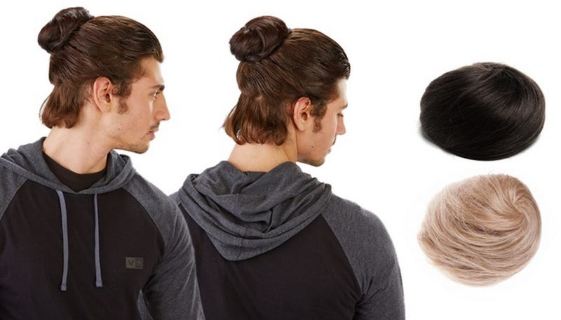 Illustration for article titled Groupon Is Selling a Clip-In Manbun