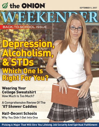 Illustration for article titled Depression, Alcoholism, & STDs: Which One Is Right For You?